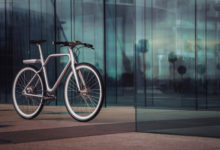 Photo of Angell is a smart bike with an integrated display
