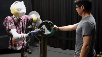 Photo of This robotic arm slows down to avoid the uncanny valley