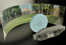 Photo of MIT engineers develop a totally flat fisheye lens that could make wide-angle cameras easier to produce