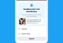 Photo of Twitter says its test to get people to read articles before tweeting worked