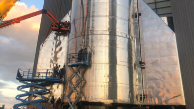 Photo of SpaceX scales back plans for Starship's first high-altitude flight