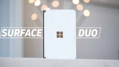 Photo of Microsoft Surface Duo quick unboxing and hardware impressions!